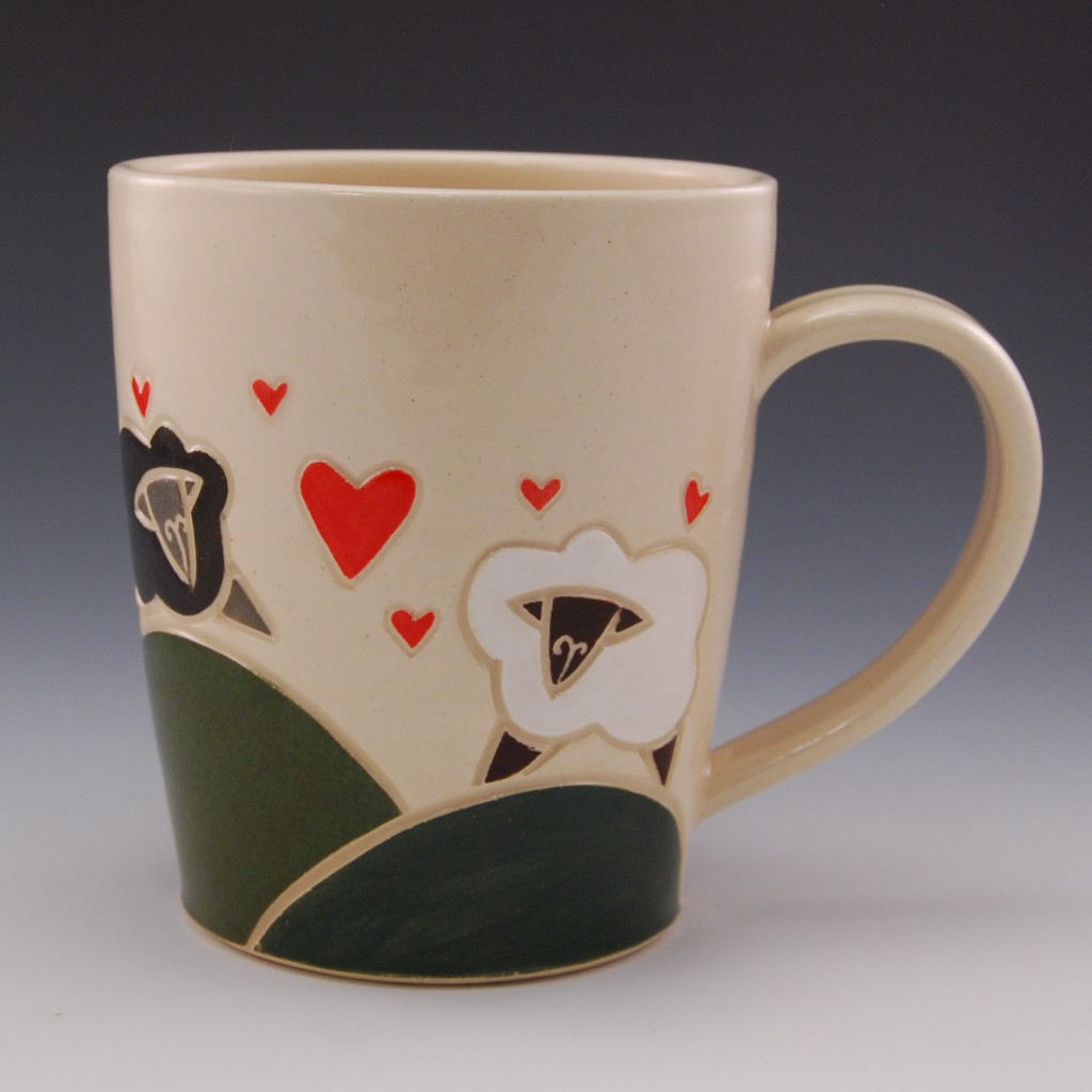 Sheepy Love Mug