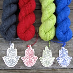 Ornaments and Yarn pairings